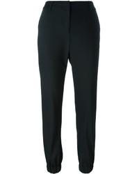 Pantalon en laine noir MICHAEL Michael Kors