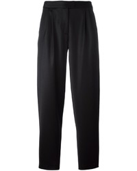 Pantalon en laine noir Moschino