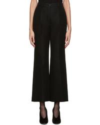 Pantalon en laine noir Nina Ricci
