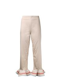 Pantalon flare beige Anna October