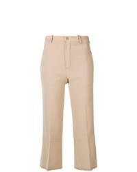 Pantalon flare beige Chloé