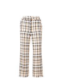 Pantalon flare beige MSGM
