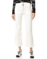 Pantalon flare blanc Edun