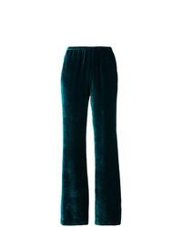 Pantalon flare bleu canard Etro