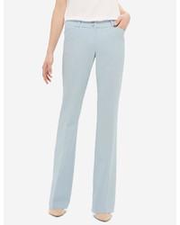 Pantalon flare bleu clair