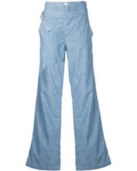 Pantalon flare bleu clair Chloé
