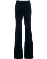 Pantalon flare bleu marine Gucci