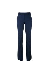 Pantalon flare bleu marine P.A.R.O.S.H.
