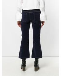 Pantalon flare bleu marine See by Chloe