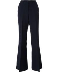Pantalon flare bleu marine Twin-Set