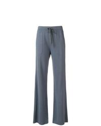 Pantalon flare bleu Fabiana Filippi