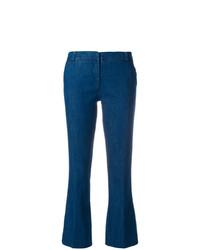 Pantalon flare bleu Kiltie