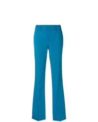 Pantalon flare bleu Marni