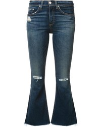 Pantalon flare bleu Rag & Bone