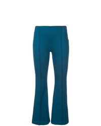 Pantalon flare bleu Rosetta Getty