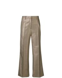 Pantalon flare doré Golden Goose Deluxe Brand