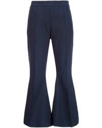 Pantalon En Bleu Acheter Laine MarineChoisir Flare QtCrBodhxs
