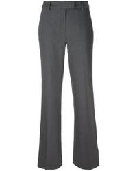 Pantalon flare en laine gris foncé MICHAEL Michael Kors