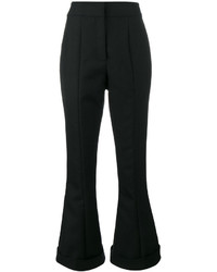 Pantalon flare en laine noir Jacquemus