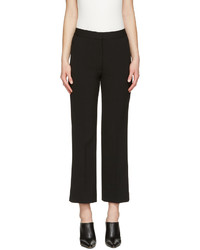 Pantalon flare en laine noir Stella McCartney