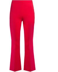 Pantalon flare fuchsia