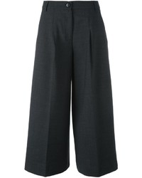 Pantalon flare gris foncé Twin-Set