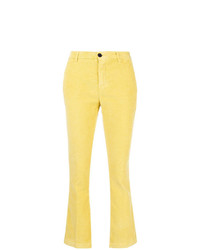 Pantalon flare jaune Department 5