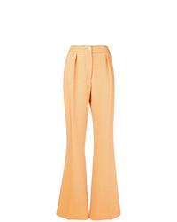 Pantalon flare jaune Marni
