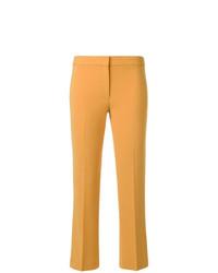 Pantalon flare jaune Theory