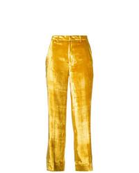 Pantalon flare jaune Tome