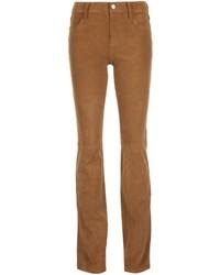 Pantalon flare marron clair J Brand