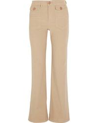 Pantalon flare marron clair See by Chloe