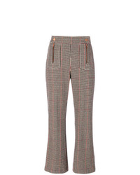 Pantalon flare marron See by Chloe