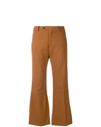 Pantalon flare moutarde Chloé