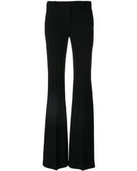 Pantalon flare noir Alexander McQueen
