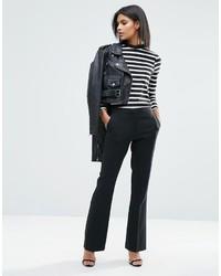 Pantalon flare noir Asos