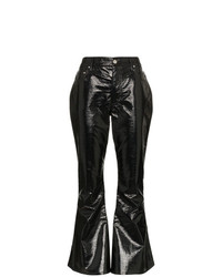 Pantalon flare noir Beaufille
