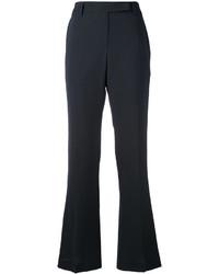Pantalon flare noir Brunello Cucinelli