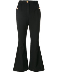 Pantalon flare noir Dolce & Gabbana