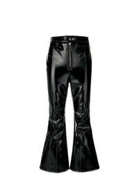 Pantalon flare noir Ellery