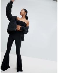 Pantalon flare noir Fashionkilla