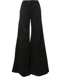 Pantalon flare noir Gareth Pugh