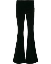 Pantalon flare noir Giamba