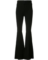 Pantalon flare noir Givenchy