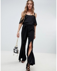 Pantalon flare noir Love & Other Things