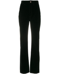 Pantalon flare noir Marc Jacobs