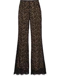 Pantalon flare noir Michael Kors