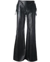 Pantalon flare noir MM6 MAISON MARGIELA