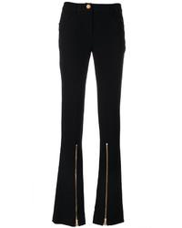 Pantalon flare noir Moschino
