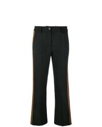 Pantalon flare noir P.A.R.O.S.H.